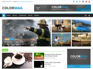 How to use ColorMag Theme
