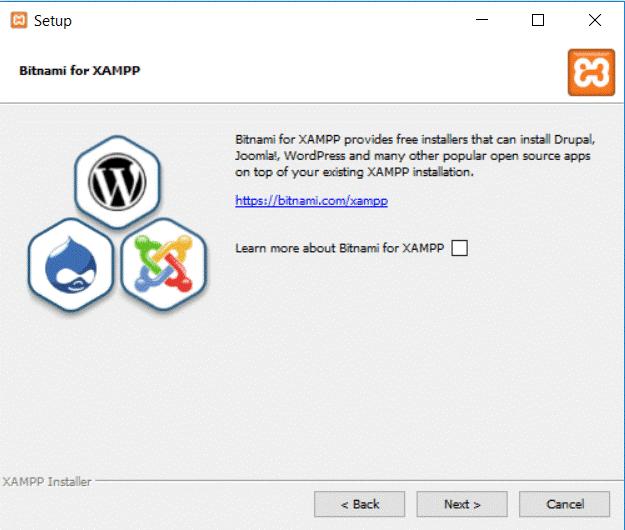 how to install XAMPP and WordPress on windows