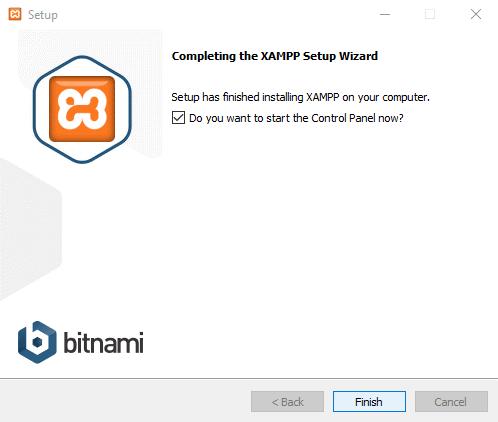 install and configure XAMPP